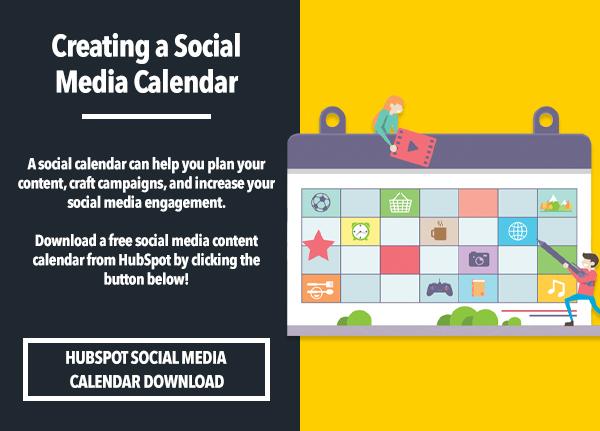 Monday Marketing Tip_Social Media Calendar