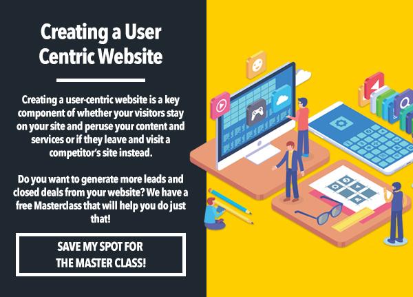 Monday Marketing Tip_User Centric Website